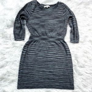 Ann Taylor Loft Space Dyed Sweater Dress Sheath
